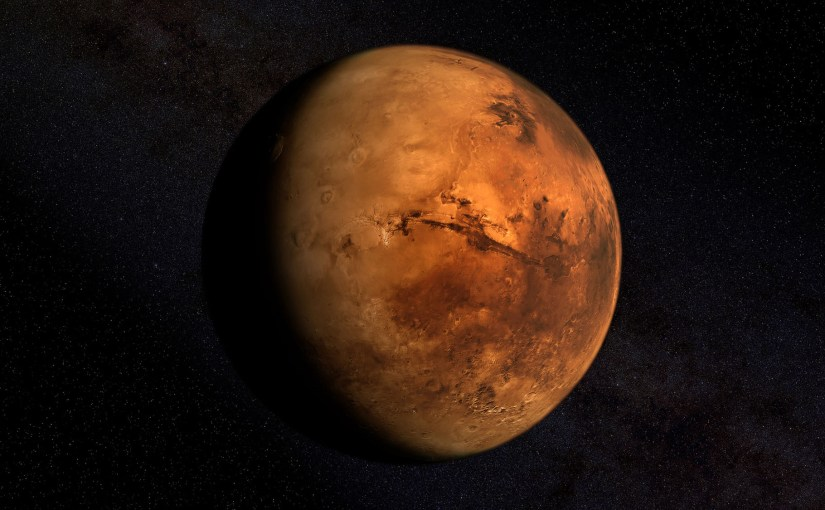 Un scientifique veut hacker des humains hybrides pour survivre sur Mars