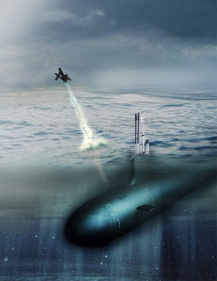 U.S. Navy to deploy new AeroVironment Blackwing unmanned aircraft system on submarines (Graphic: Business Wire)