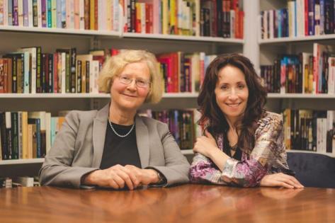 "Elizabeth Blackburn (left) and Elissa Epel, authors of ""The Telomere Effect."""