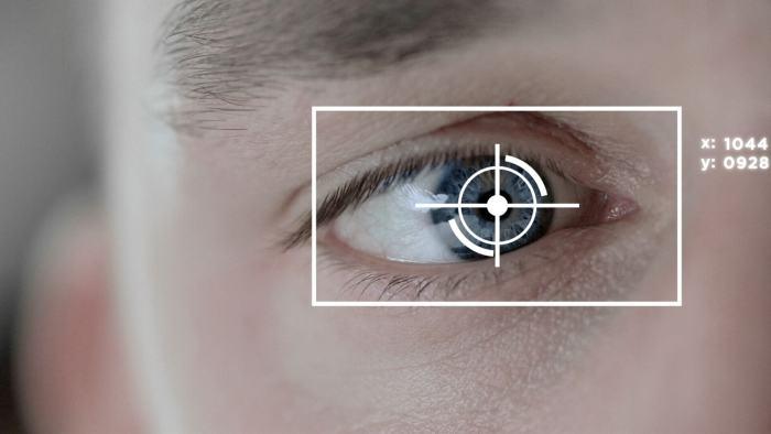 eye-track biométrie oeil