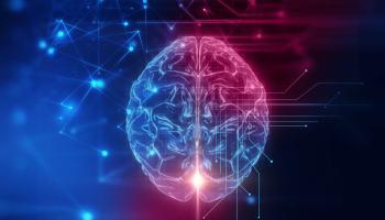 3D, cerveau humain, technologie, intelligence artificielle, cyber espace ia