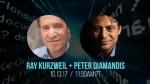 Livestream avec Ray Kurzweil et Peter Diamandis