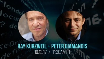 transhumanisme Ray Kurzweil Peter Diamandis