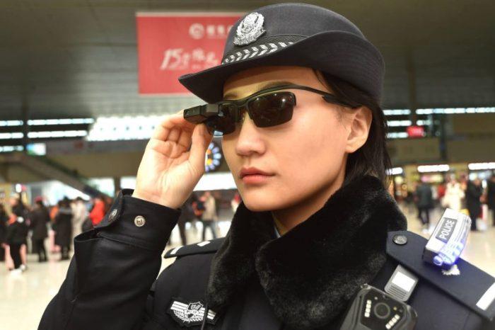 lunette de reconnaissance faciale
