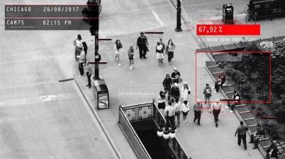 reconnaissance faciale Prédire les crimes biométrie surveillance sécurité