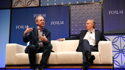 Brad Smith, Tony Blair, Web Summit