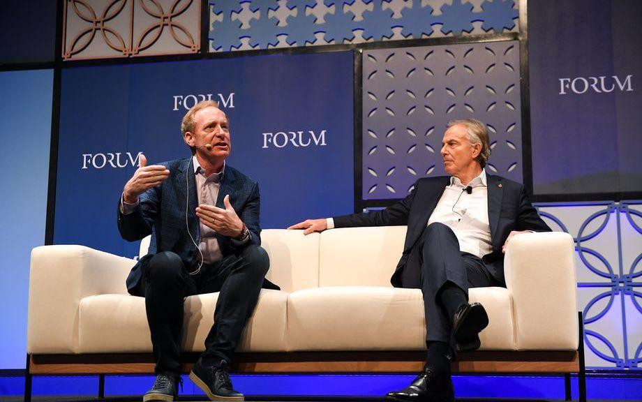 Brad Smith, Tony Blair, Web Summit