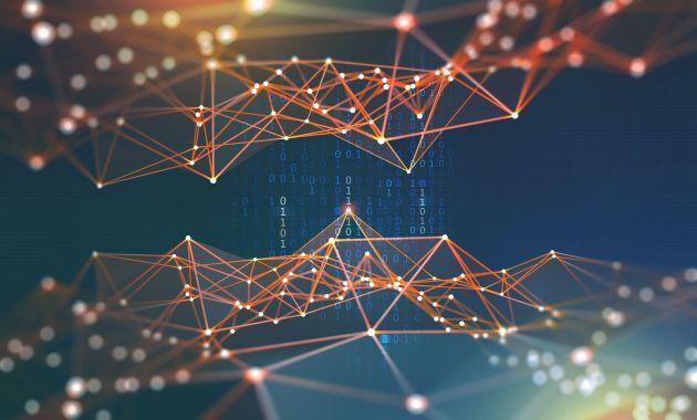 ia Blockchain Réseaux de neurones intelligence artificielle cyberespace code binaire