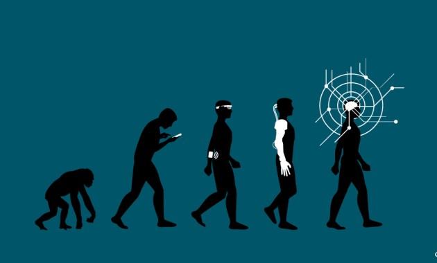Futuriste Technologie Humanité transhumanisme h+