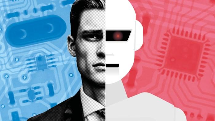 ia robot Intelligence artificielle quand l'homme coexiste avec des robots