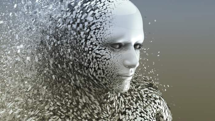 artificial intelligence ia ia ai abstract intelligence artificielle
