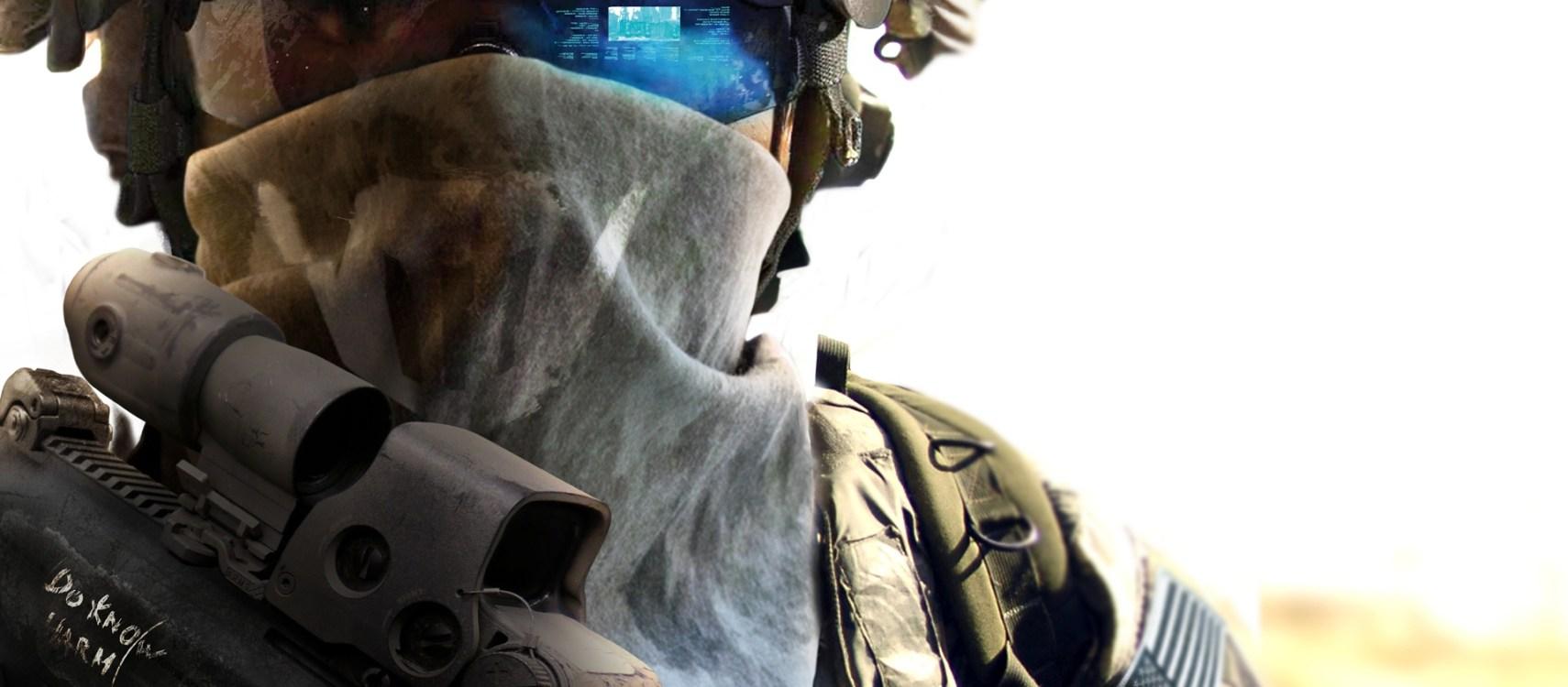 soldat du futur armée militaire