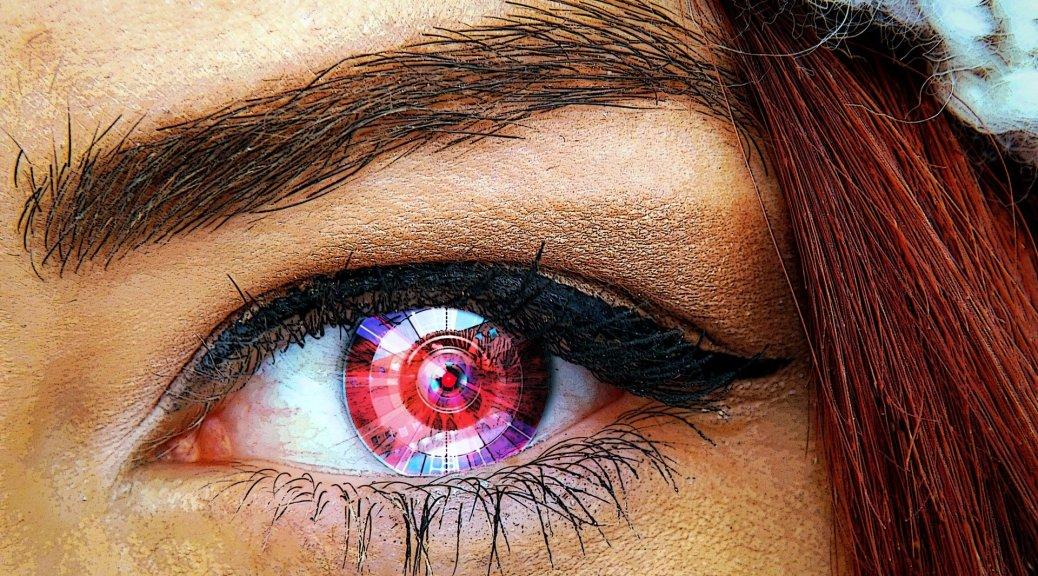 oeil bionic eye iris