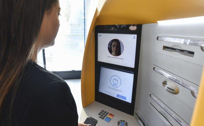 CaixaBank : reconnaissance faciale pour les guichets automatiques