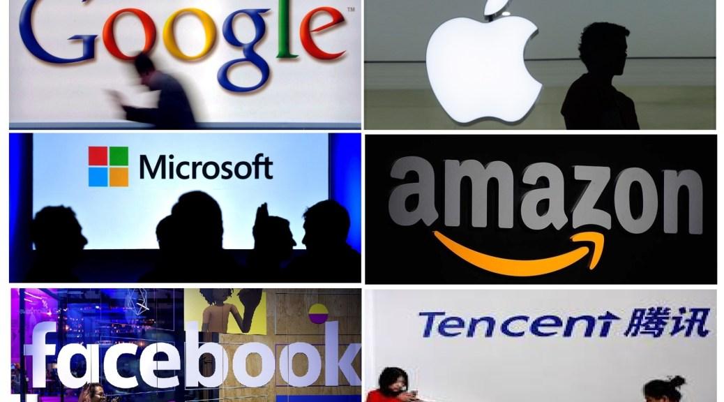 Google, Facebook, Apple, Microsoft