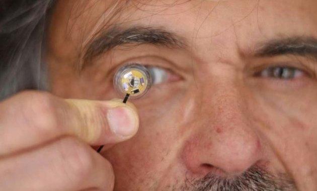 Jean-Louis de Bougrenet de la Tocnaye et la lentille de contact connectée - IMT Atlantique