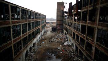 désindustrialisation usine