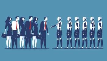 ia intelligence artificielle travail robot automatisation