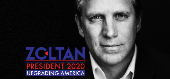 Zoltan Istvan President 2020 h+ transhumanisme