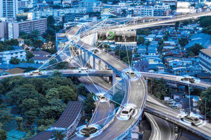 5G Voiture autonome voiture intelligente technologie de navigation en réalité augmentée