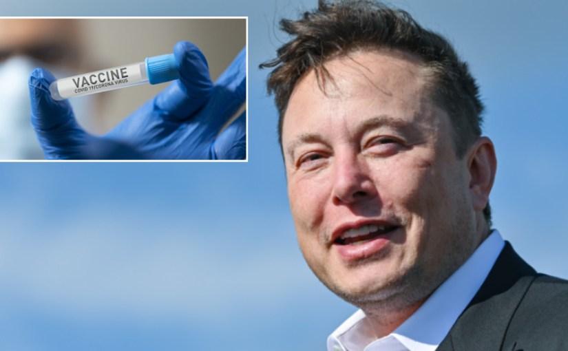 Elon Musk vaccin covid-19