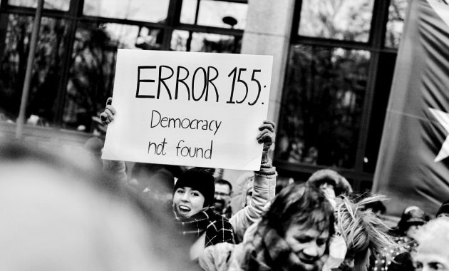 error 155 democracy not found