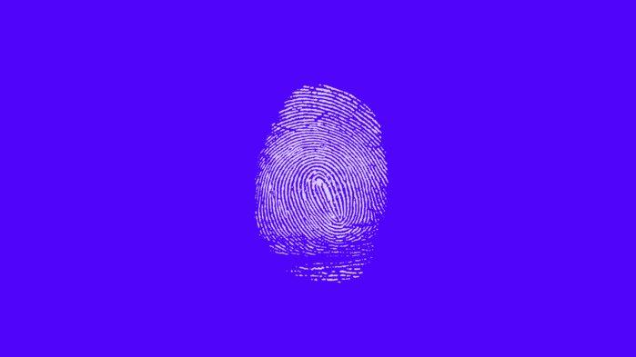 empreintes digitales données biométriques