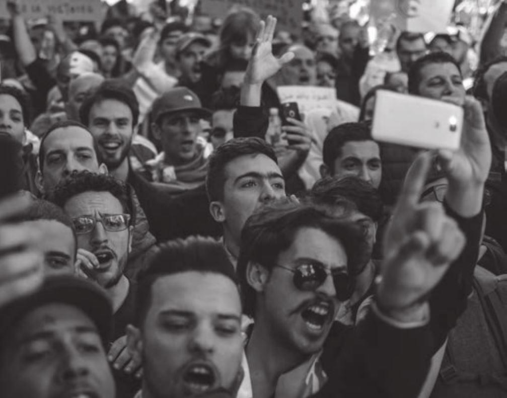 Les manifestations - vues ici en Algérie