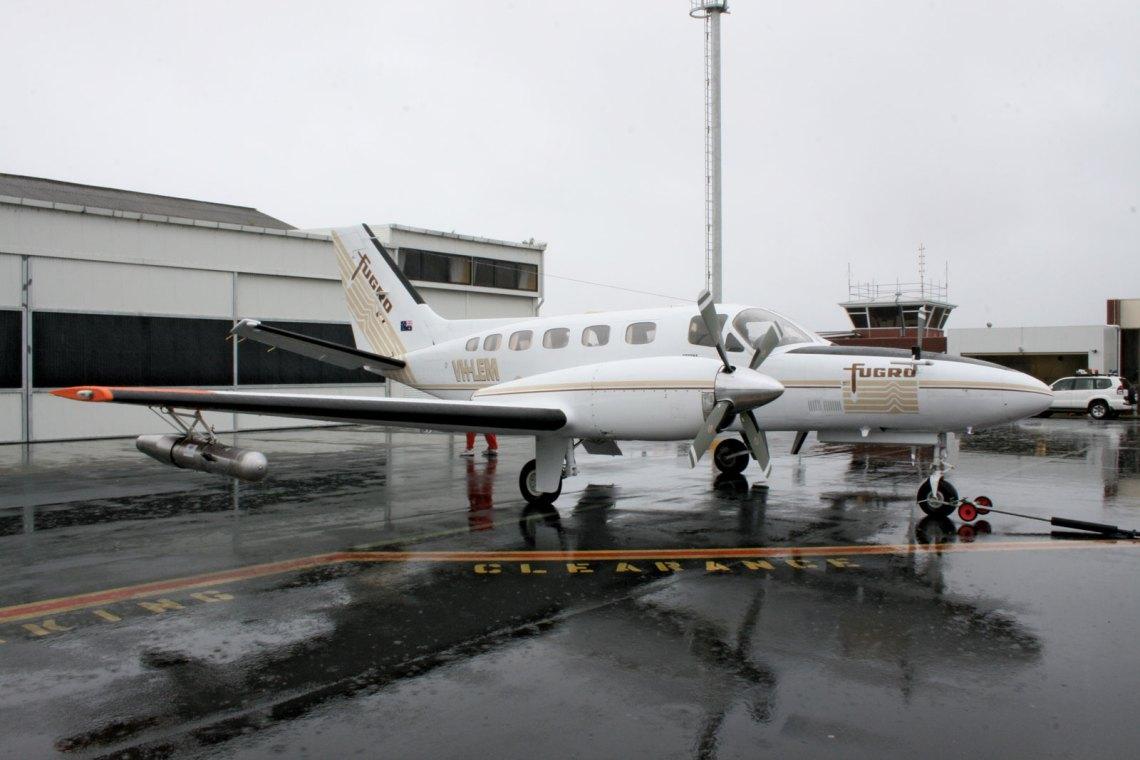 avion ensemenceur de nuages