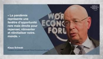 Klaus Schwab Grand Reset quatrième révolution industrielle