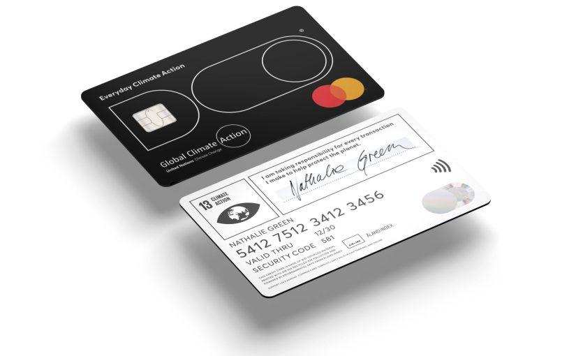 Une carte de crédit assortie d'une limite mensuelle de CO2