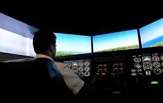 Aviation Technology Major in Flying