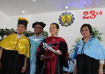 Senator Grace Poe Graces Batch Remarkable's Graduation