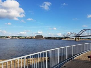 Mississippi River in Davenport, IA