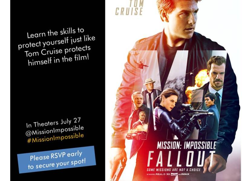 Mission Impossible Fallout Self Defense Class Tom Cruise