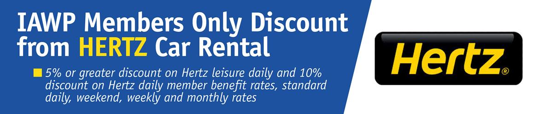 IAWP - Member Benefits (Hertz Discount)