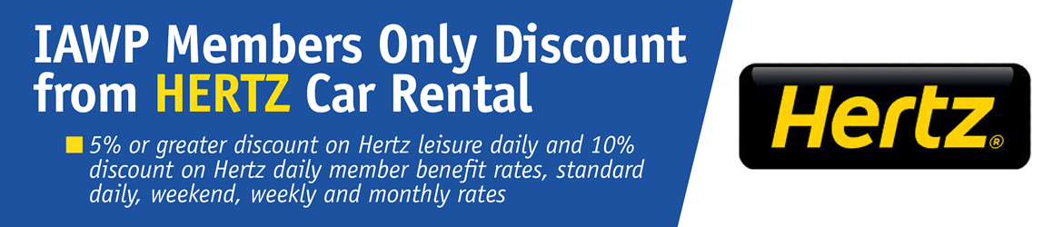 IAWP - Member Benefits (Hertz Discount)
