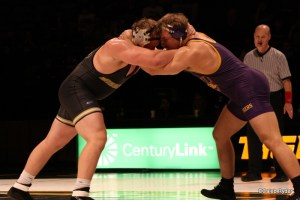 UNI's Blaize Cabell ties up with Missouri's Devin Mellon