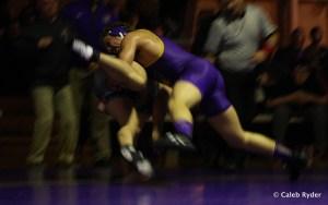 UNI's Blaize Cabell takes down ODU's Jake Henderson