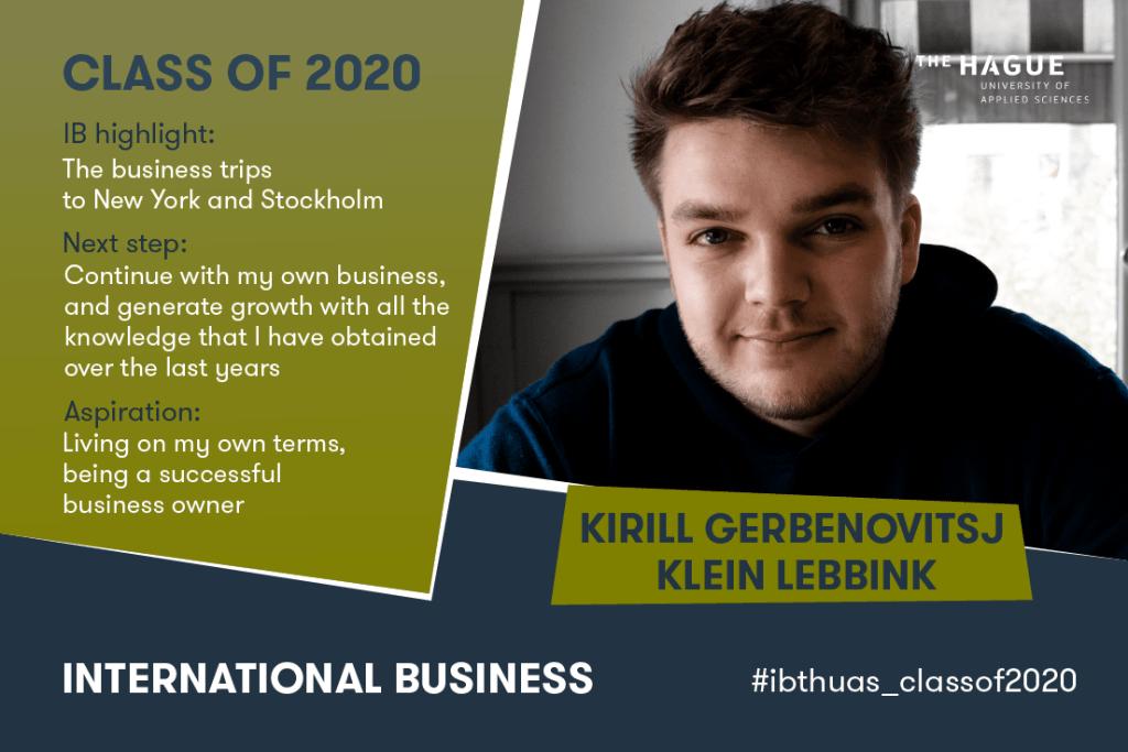 Kirill Gerbenovitsj Klein Lebbink_IN
