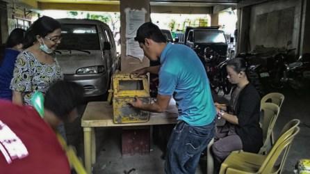 ibaan comelec municpal treasurer ballot boxes mayor danny toreja