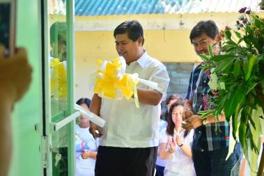 blessing of ibaan birthing home ibaan batangas mayor danny toreja agnes chua 11