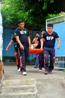 ibaan batangas saint james academy the big one earthquake drill mayor danny toreja iba ang ibaan 12