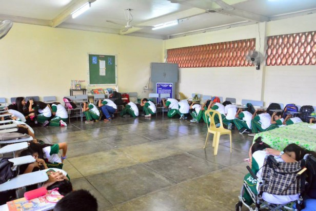 ibaan batangas saint james academy the big one earthquake drill mayor danny toreja iba ang ibaan 4