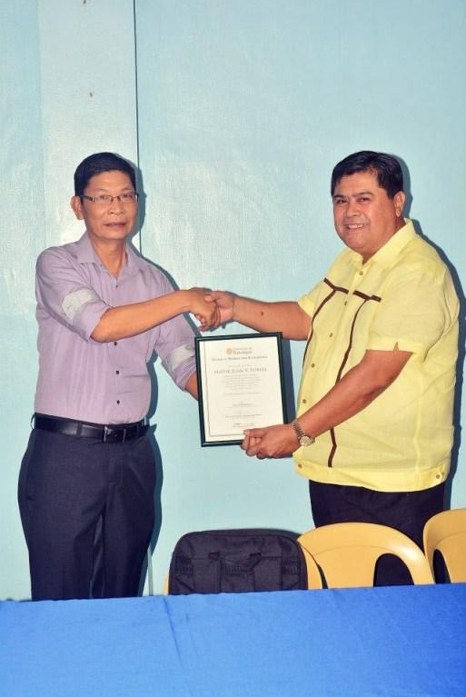 university of batangas college of business and accountancy workplace ethics mayor danny toreja jess briones ibaan batangas 17