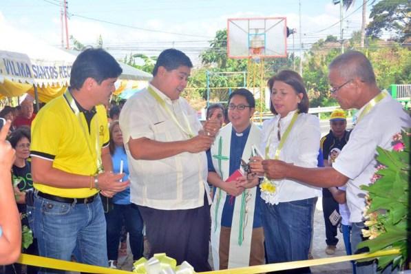 mayor danny toreja inauguration of pangao barangay hall ibaan batangas 7
