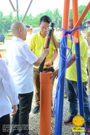 delnor agr food corporation ground breaking ceremony brgy lapulapu ibaan batangas mayor danny toreja july 30 2016 29