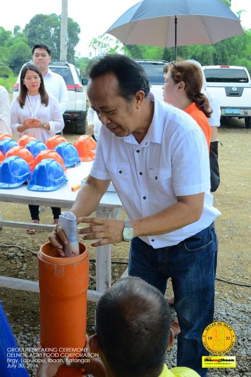 delnor agr food corporation ground breaking ceremony brgy lapulapu ibaan batangas mayor danny toreja july 30 2016 39
