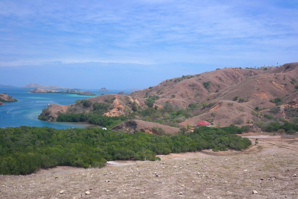 View from Komodo National Park