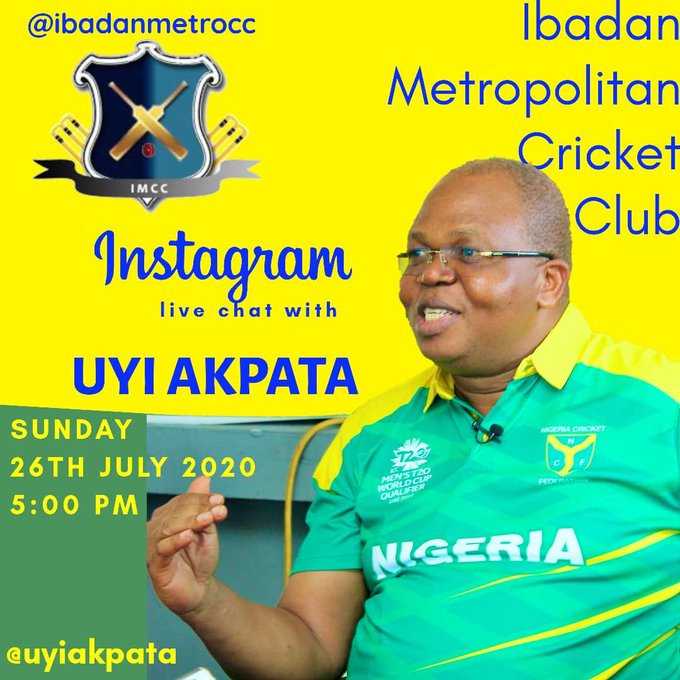 Connect with the Vice President of Nigerian Cricket Federation